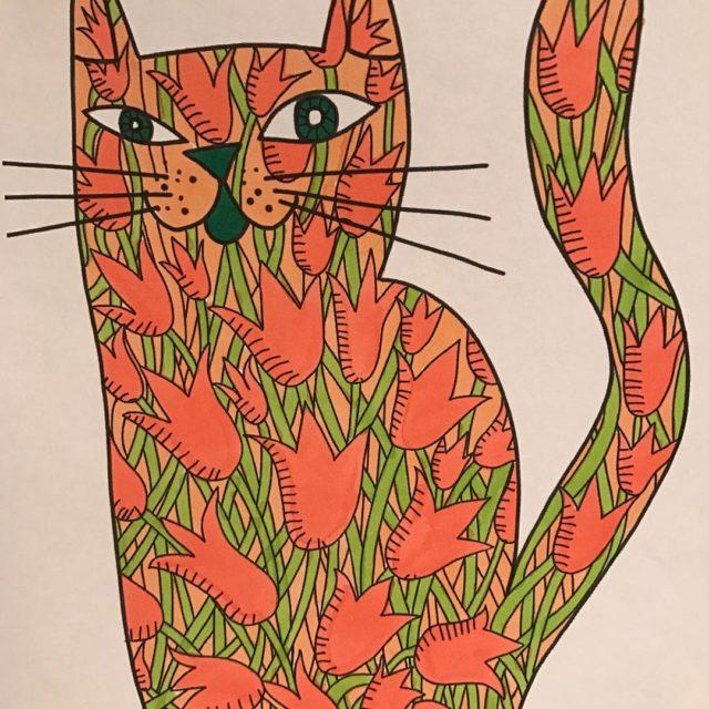 Kitty cat colouring book kittyblake kittycat cat catcolouringbook adultcolouringbook catcoloringbookhellip