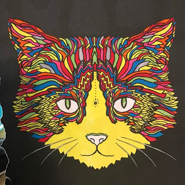 Complicated cats colouring book colouring cats complicatedcolouring nikiturner complicatedcoloring adultcolouringbookhellip