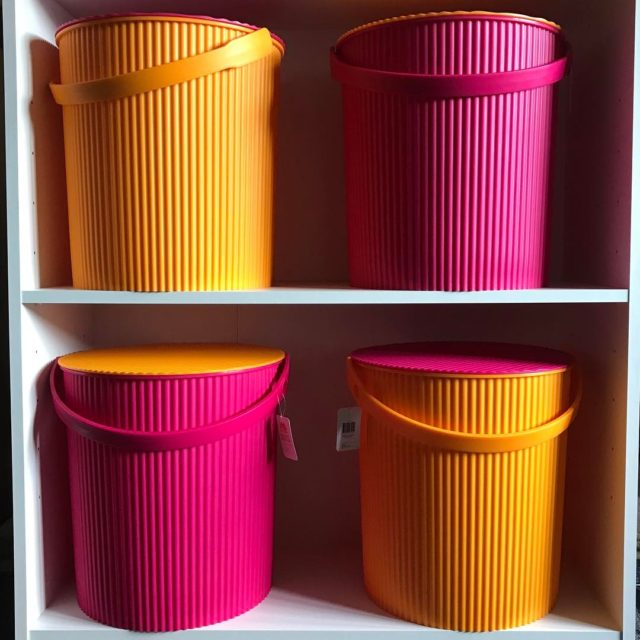 Shoe storage Homebase shoestorage brightcoloursmakemehappy aspiretocreatecrafts projectcreativeorg pinkorange diy porchhellip