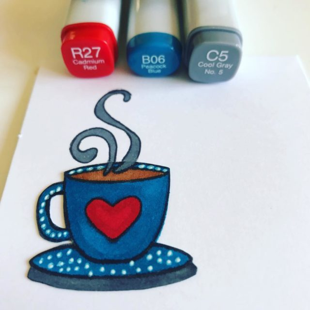 Aliexpress rubber stamp using copic markers aliexpress copicsketchmarkers rubberstamps nikiturnerhellip
