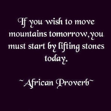 African proverb quote proverb africanproverbs odaat progress progressquotes inspirationalquotes quotestolivebyhellip