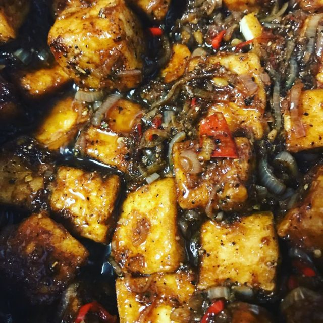 Pepper tofu plenty ottolenghi peppertofu tofu vegetarianfood nikiturner