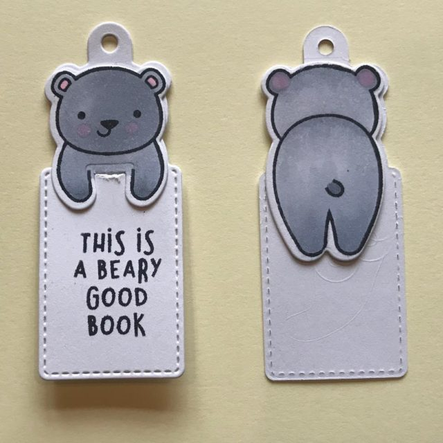 Just made a load of these cute little book tagshellip